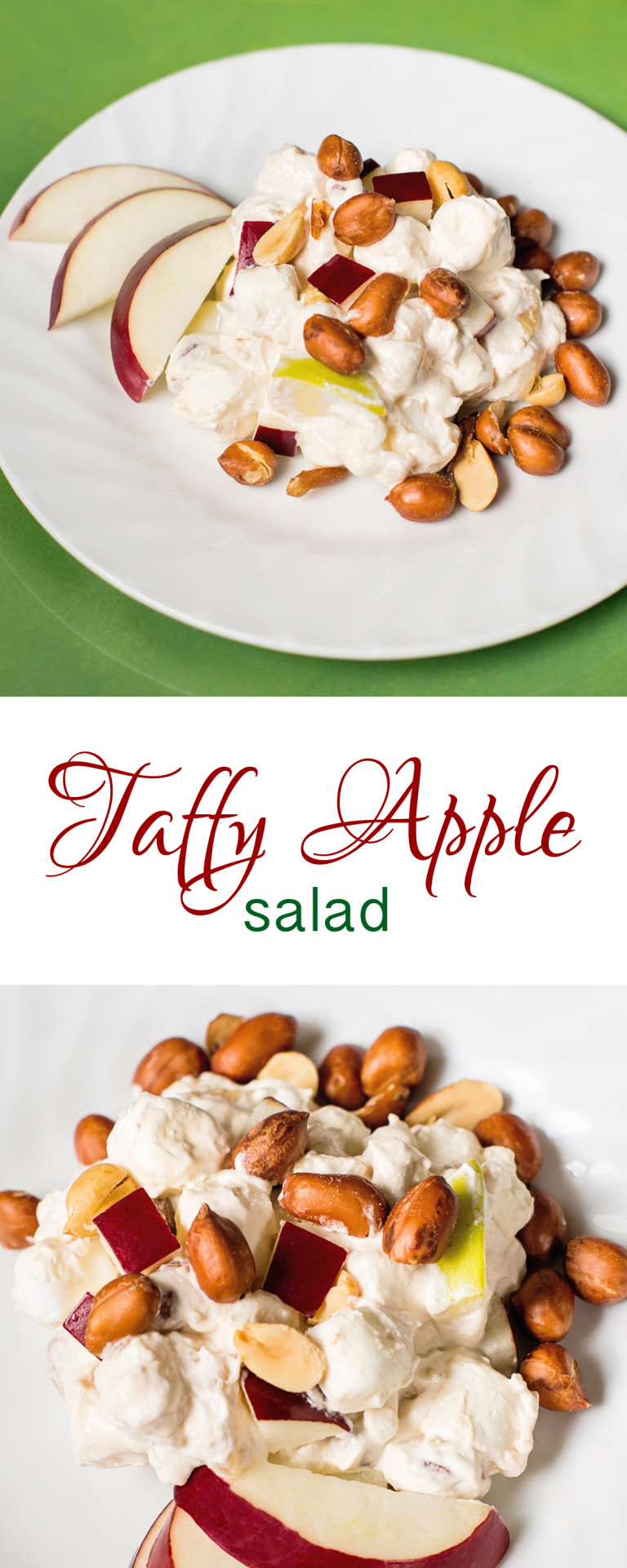 Taffy Apple Salad | theinspiredparent.com