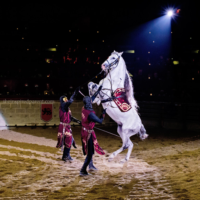 Medieval Times | theinspiredparent.com