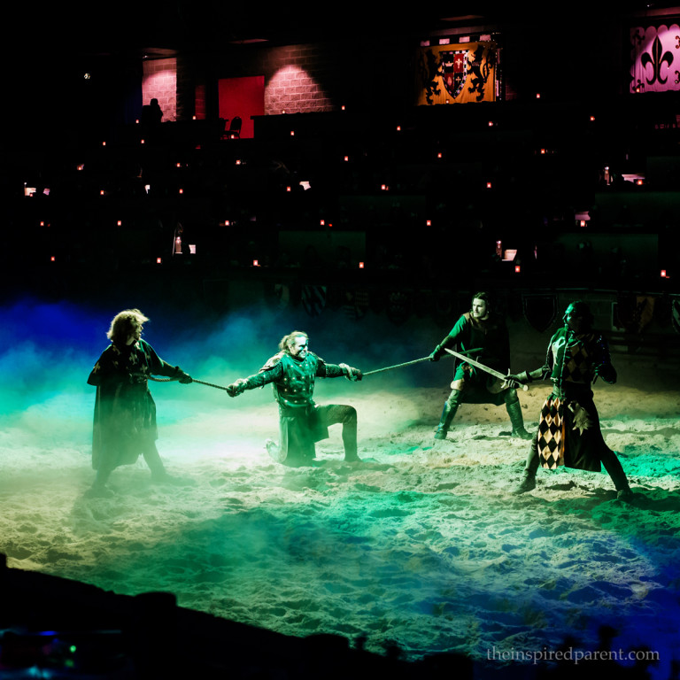 Medieval Times - Capturing the Villain | theinspiredparent.com
