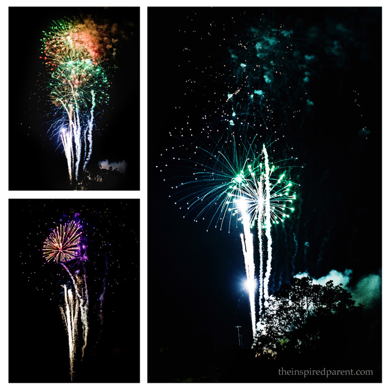 Fireworks - Photography Tips & Tricks | theinspiredparent.com