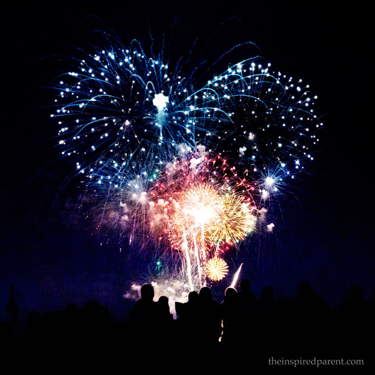 One of my favorite photos I've taken of fireworks - shot at the Taste of Oak Brook in Oak Brook, IL.