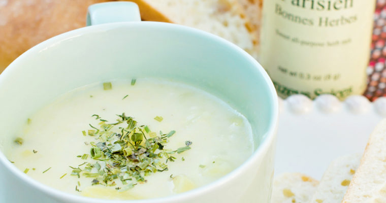 Simple Potato Leek Soup